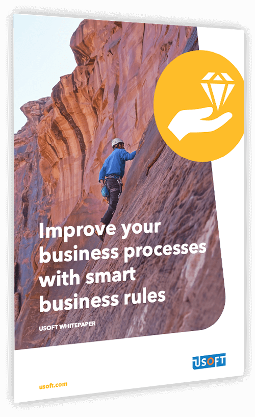 USoft improve your business processes with smart business rules